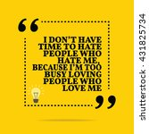 inspirational motivational... | Shutterstock .eps vector #431825734