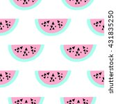 seamless repeating pattern with ... | Shutterstock .eps vector #431835250