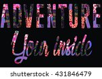 slogan for t shirt | Shutterstock . vector #431846479
