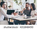 they need an expert advice.... | Shutterstock . vector #431848450