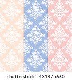 vector set of classical... | Shutterstock .eps vector #431875660