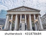 Small photo of building of Royal Exchange in London near Bank underground station