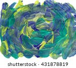 watercolor abstract pattern | Shutterstock . vector #431878819