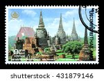 bangkok thailand   june 2010  a ... | Shutterstock . vector #431879146
