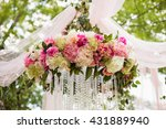 wedding decoration ceremony ... | Shutterstock . vector #431889940