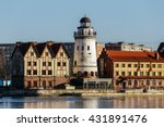 fishing village   ethnographic... | Shutterstock . vector #431891476