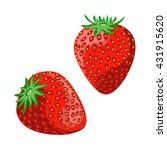 ripe juicy berries of...   Shutterstock .eps vector #431915620