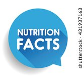 nutrition facts label sign... | Shutterstock .eps vector #431937163