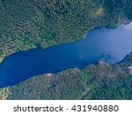 Aerial Karelia View  Russia