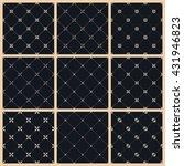 vector seamless pattern set... | Shutterstock .eps vector #431946823