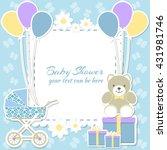Baby Shower Boy  Invitation...
