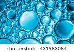 abstract water bubbles light... | Shutterstock . vector #431983084