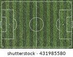 green grass background texture... | Shutterstock . vector #431985580