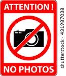 No Photography  Camera...