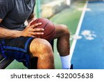 basketball athlete ball sport... | Shutterstock . vector #432005638