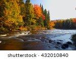 Beautiful Mountain River In...