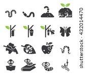 worm icon set. | Shutterstock .eps vector #432014470