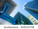 skyscraper office business... | Shutterstock . vector #432014758