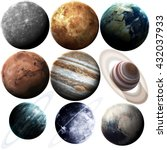 Isolated Set Of Planets In The...