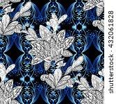 vector seamless texture | Shutterstock .eps vector #432061828