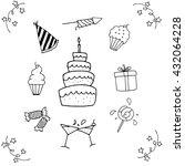 element of doodle vector...   Shutterstock .eps vector #432064228