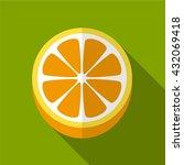 orange icon | Shutterstock .eps vector #432069418