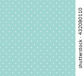 seamless polka dots pattern... | Shutterstock .eps vector #432080110