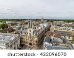 High Angle View Of The City Of...