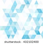 blue grid mosaic background ... | Shutterstock .eps vector #432102400