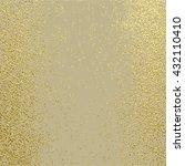 gold texture. metal pattern.... | Shutterstock .eps vector #432110410