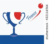 soccer cup  euro 2016 france ... | Shutterstock .eps vector #432116566