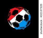 sketch soccer football easy all ... | Shutterstock .eps vector #432137320