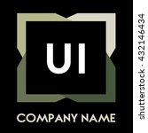 ui letters business logo...