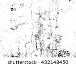 cracked and peeling paint on... | Shutterstock .eps vector #432148450