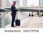 afro american waiting for job...   Shutterstock . vector #432179518