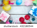 birthday background. birthday... | Shutterstock . vector #432180544