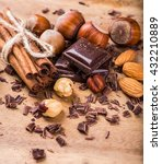 chocolate bar  chocolate bar... | Shutterstock . vector #432210889