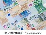 Euro Money Banknotes Showing...