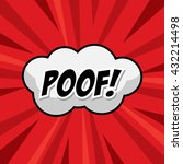 poof template colorful speech...   Shutterstock .eps vector #432214498