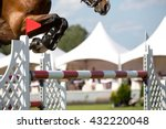 equestrian sports  horse...   Shutterstock . vector #432220048