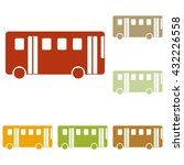 bus simple sign | Shutterstock .eps vector #432226558