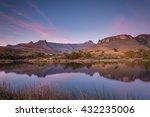 Drakensberg Amphitheatre On A...