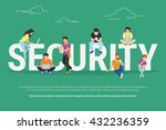 security concept illustration... | Shutterstock .eps vector #432236359