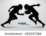 Football Player Silhouette....
