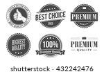 quality emblems | Shutterstock .eps vector #432242476