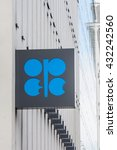 Small photo of VIENNA - JUL 22: Building Organization of the Petroleum Exporting Countries (OPEC) on July 22, 2012 on Helferstorferstrasse 17 in Vienna, Austria.