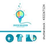 vector company logo icon... | Shutterstock .eps vector #432267124