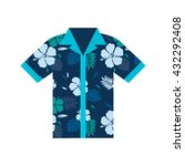 hawaiian aloha shirt. an icon... | Shutterstock .eps vector #432292408