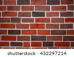 Background Old Brick Wall Made...