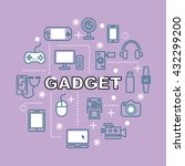 Gadget Minimal Outline Icons ...
